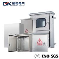 Cheap OEM Offered Stainless Steel Industrial Enclosures / Electrical Metal Cabinets for sale