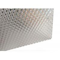 Diamond Transparent Corrugated Roofing Sheets , Polycarbonate Greenhouse Panels