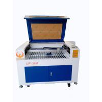 Buy cheap 6090 MDF paper wood acrylic laser cutting machine, image photo laser engraving from wholesalers