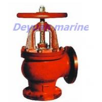 Cheap JIS Marine Cast Iron Flanged Angle Stop Valves for sale