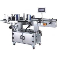 Cheap Round And Flat Borrles Beverage Filling Line , Single Sided Bottle Sticker Labeling Machine wholesale