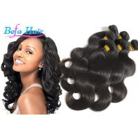 Cheap Unprocessed Body Wave Grade 6A Virgin Hair Extensions With Full Cuticles for sale