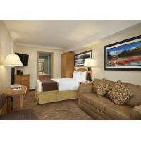 Cheap Holiday Inn Full Size Bedroom Sets Solid Wood Plywood Fabric Foam Material for sale