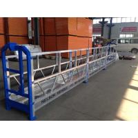 Cheap Exterior Construction Scaffold Working Platforms / Suspended Wire Rope Platform for sale