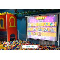 Cheap Interactive floor game projector interactive projection wall children game machine for sale