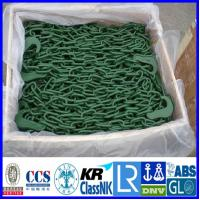 Cheap Container lashing Chain, Red painted lashing chain container securing lashing chain for sale