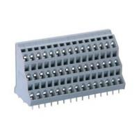 2P - 24P Triple Deck Pcb Terminal Block with Strip 10.0/10.16mm Pitch (2 Solder Pins)