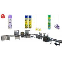 Buy cheap Aerosol Spray Filling Line for Room Air Freshener from wholesalers