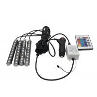 Cheap Sound Activated Car Pixel RGB LED Flexible Strip Wireless Remote Control 16 Colors for sale