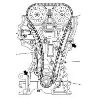 stretched timing chain kit for opel 1 0l agila astra combo