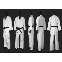 Cheap Martial Arts Wears White Judo Uniform With Flat Drawing String for sale