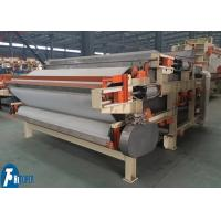 Cheap Fully Automatic Sludge Dewatering Belt Press For Oil Refining / Coal Washing for sale