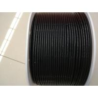 Buy cheap Black Smooth Anti Static Polyurethane Round Belt Diameter 3mm Hardness 90A from wholesalers