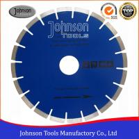 Cheap Fast Speed Diamond Stone Cutting Blades With Blue / Clear Color for sale