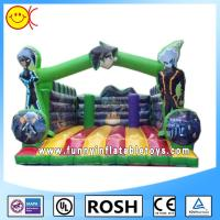 Cheap Park Party Commercial Inflatable Bounce House For Entertainment for sale