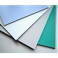 Cheap 3003 Series Dupont Polymer Adhesive Silver Color 5mm Aluminum Exterior Commercial Building Wall Panels for sale