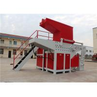 Cheap Multifuction Tire Waste Single Shaft Shredder Motor Power 22 Kw Auto Reverse Switch for sale