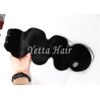 Cheap Healthy Full Cuticles Brazilian Remy Virgin Hair Extensions No Fiber No Synthetic for sale