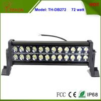 Cheap High Quality Waterproof 72w Double Stack LED Light Bar for Automotive Truck LED Headlight for sale