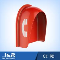 Fiberglass Reinforced Polyester Acoustic Phone Booth Pillar Dust Proof For Streets