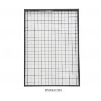 Cheap Warehouse Steel Mesh Pallet Rack Back Guard 2 Inch X 2 Inch 1125mm Wide 700mm High for sale