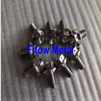 Quality ti64 Titanium Motorbike Rear Brake Motorcycle Rotor Bolt Screw blue Titanium wholesale