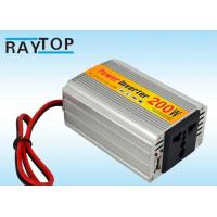 Cheap 200W Car Ac To Dc Power Converter Charger 12V To 220V For Cell Phones IPhone GPS for sale
