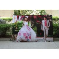 Cheap 2021 new year wholesale 3d lenticular printing wedding photos with depth 3d moving effects by UV flabed printer for sale