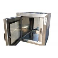 Cheap Sterile Electronic Interlock Cleanroom Pass Box In Class 100 Clean Rooms for sale