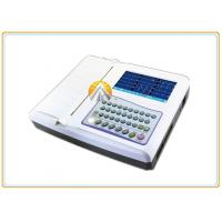 Cheap 12 Leads Waveforms Portable ECG Machine 7 Inch TFT LCD Touch Screen 12 Channel for sale