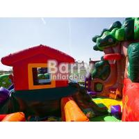 Cheap Custom Blow Up Obstacle Course For Kid Party Time Playground Inflatable Jumping Bounce for sale