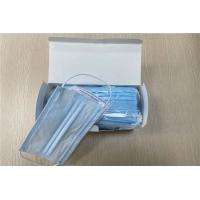 Cheap Perfect Fitting Design Disposable Face Mask Low Resistance To Breathing for sale
