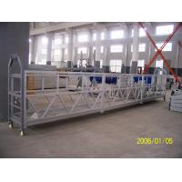 Cheap 800 Rated Load Personalized Rope Steel Suspended Rope Platform For Building Maintenance wholesale