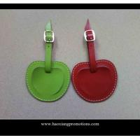 Cheap New Products for 2015 Factory Customized Leather Luggage Tag with your logo for sale