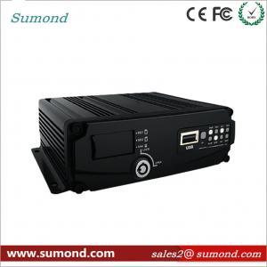 Cheap 4CH 1080P AHD Digital Video Recorder GPS Car DVR SD Card CCTV HD Vehicle Camera for sale