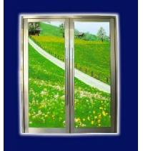 China Aluminum Spring Door (LZ46) on sale