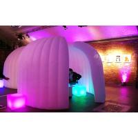 Cheap Trade Show Inflatable Curved Wall Inflatable Meeting Room Indoor / Outdoor for sale