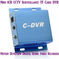 Cheap Mini C-DVR 1CH CCTV Surveillance TF Card DVR Digital Audio Video Recorder Motion Detection for sale