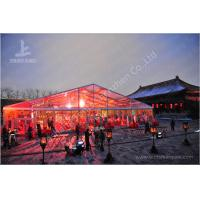 Cheap 800 Seater Fabric Gala Dinner Outdoor Party Tents Clear Roof Marquee 25X50 M wholesale