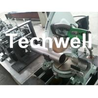 Cheap Round Rainspout Roll Forming Machine for Rainwater Downpipe, Downspout Drainage for sale