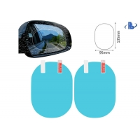 China Safe Driving Car Rearview Mirror Anti Fog Film Sticker on sale