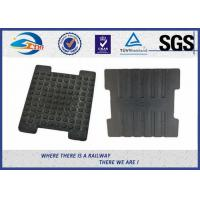 Cheap Reinforced Virgin Material Nylon Rail Guide Plate / Angle Guide Plate EVA HDPE Rubber Part for sale