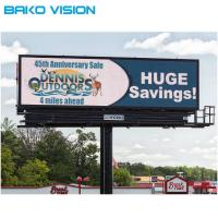 Cheap Waterproof Outdoor Fixed LED Display IP65 Full Color 6500 Nits For Advertising for sale