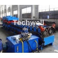 Quality 2 In 1 Metal Stud Roll Forming Machine , Sheet Metal Roll Forming Machines wholesale