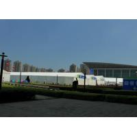 Cheap Spacious Trade Fair Tents 1500 Person Capacity Unit Combined Structure for sale
