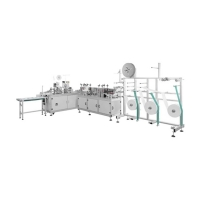 Cheap PLC Control One Time Surgical Face Mask Machine for sale
