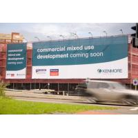 Cheap UV Resistant Large Format Mesh Banners 1.02m - 3.20m Width For Outdoor Advertising for sale