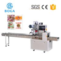 China Automatic Bakery Packaging Equipment / Horizontal Food Packing Machine on sale