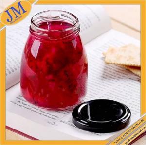 200ml screw top glass pudding jar
