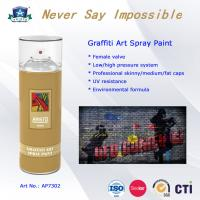 Cheap OEM Art Graffiti Spray Paint with Advanced Formula and Professional Valve System for sale